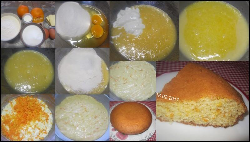 Gâteau au yaourt & zeste d' oranges. Gyteau11