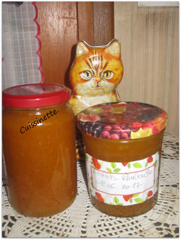 Confiture d'abricots.rhubarbe. Img_5211