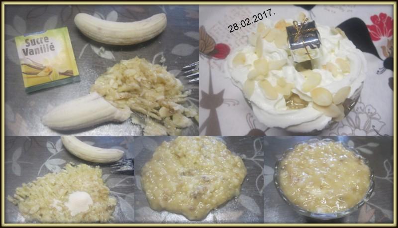 Purée de bananes et Chantilly. Purye_11
