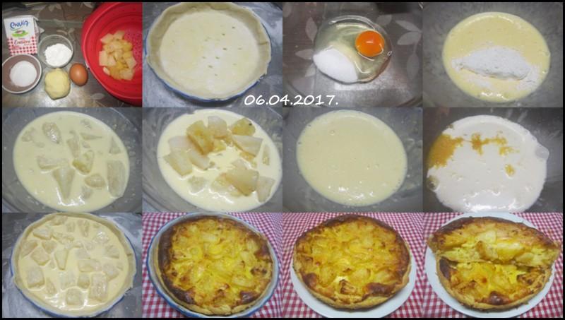 tarte à l'ananas.et crème fraiche. Tarte_11