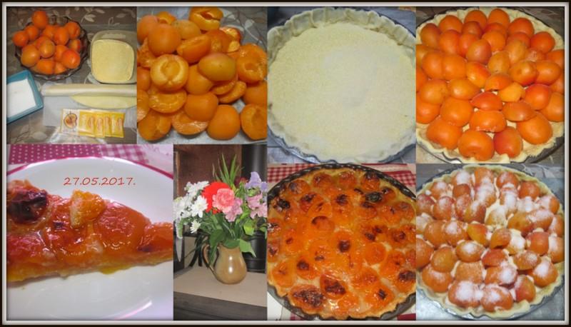 Tarte aux abricots frais. Tarte_12