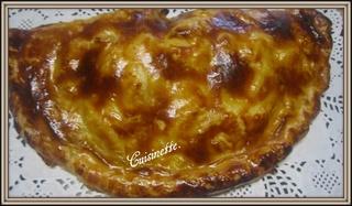 Chausson aux pommes et rhubarbe. Tartel12