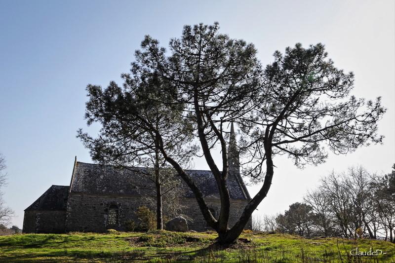 Chapelle Saint Guénolé à Coat-à-tous, Carnac (56) Chapco10