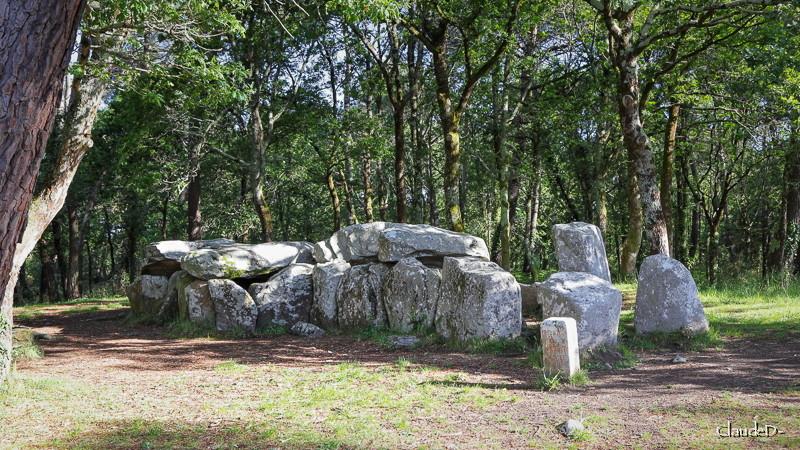 erdeven - Mégalithes d' Erdeven (56) Manegr12