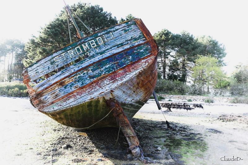 Fin de vie .... Cimetières de bateaux .... - Page 9 Stromb11