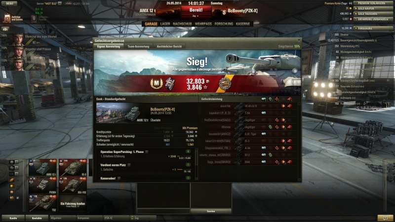 AMX 12 T Orlik Medallie und 5 Kills im 9er Gefecht Shot_011