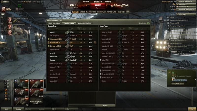 AMX 12 T Orlik Medallie und 5 Kills im 9er Gefecht Shot_014