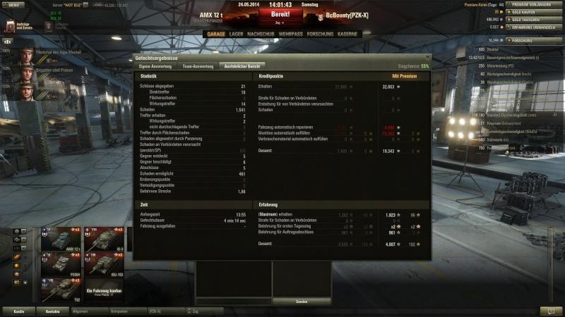 AMX 12 T Orlik Medallie und 5 Kills im 9er Gefecht Shot_015