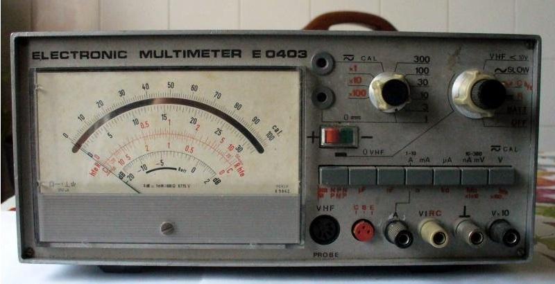 Cumpar multimetru electronic E 0403 E040310