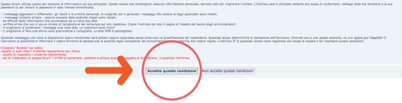 COME REGISTRARSI SU PASSIONEMETEO.NET (dal web e da mobile) 2_10