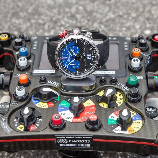 EDOX Chronorally Sauber F1 Team Limited Edition Edox_s10