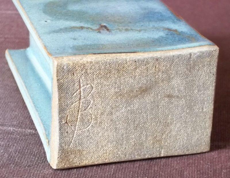 Stoneware slab vase 100_3441