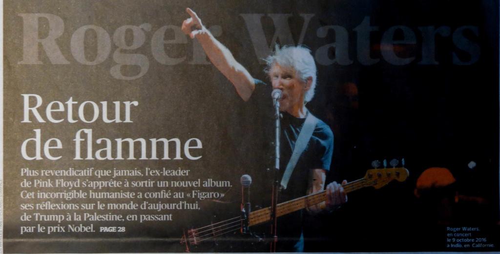 """Wawa en 1ère page du supplément """"Le Figaro et vous"""" du 27/04/2017 Waters13"""