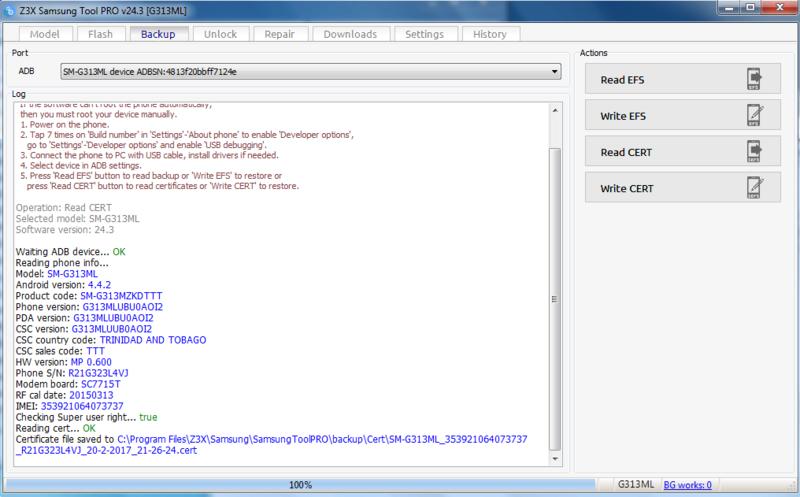 Activaciones de Z3x 24.3 Nuevo loader full Lectur10