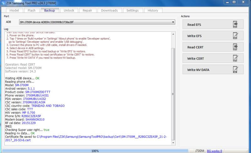 Activaciones de Z3x 24.3 Nuevo loader full Read_c10