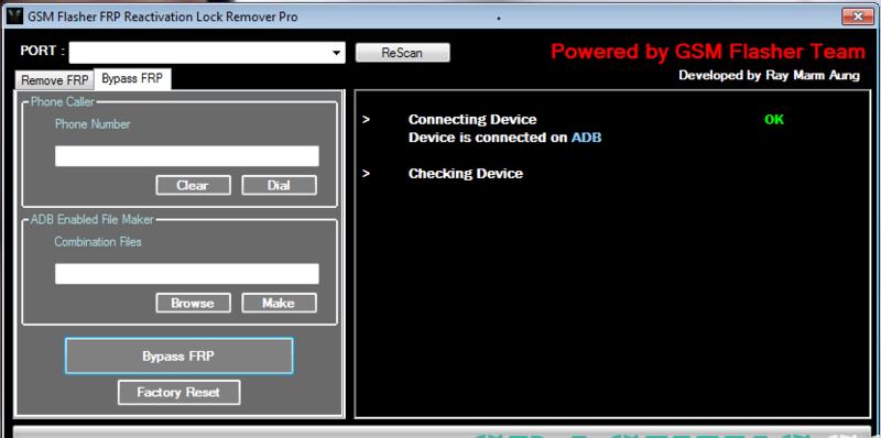 Aporte GSMFlasher FRP Tool Pro Cracked Sasas10