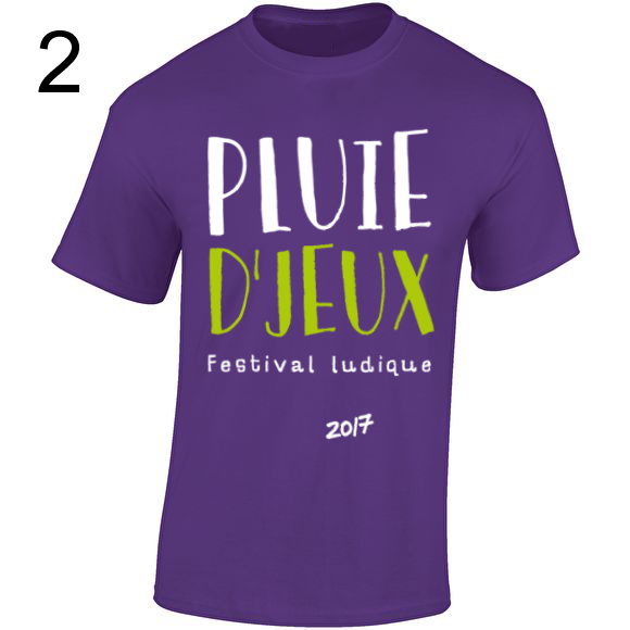 Achat de T-Shirt Pluie D'Jeux Gildan12