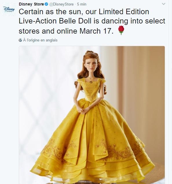Disney Store Poupées Limited Edition 17'' (depuis 2009) Belle10