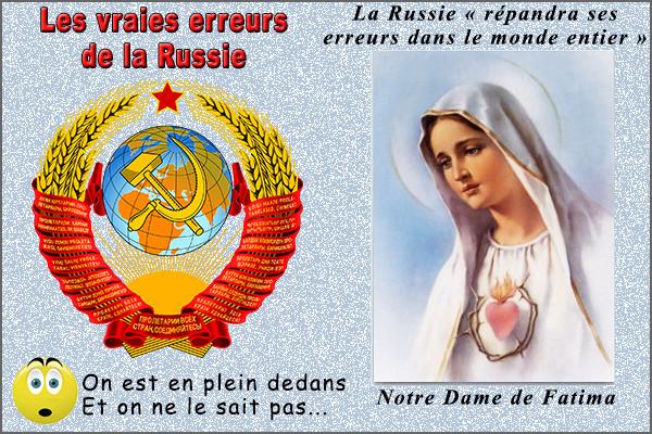 Pourquoi Notre Dame de Fatima était-elle si préoccupée par la Russie ?  Soviet10