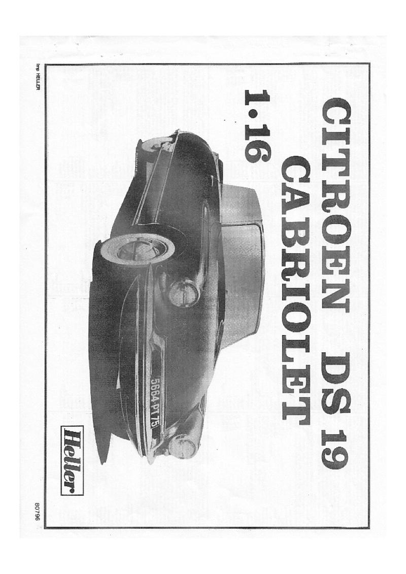 Ciroën DS 19 cabriolet 1/16 notice Img_0010