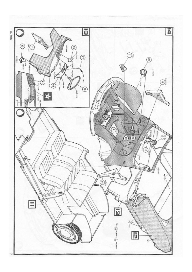 Ciroën DS 19 cabriolet 1/16 notice Img_0016