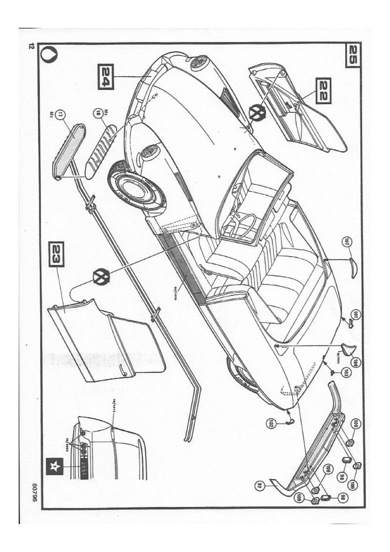Ciroën DS 19 cabriolet 1/16 notice Img_0021