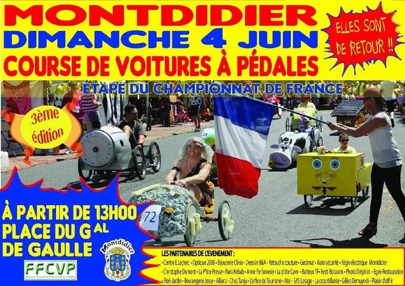 Dimanche  04 Juin  Course de Voitures à Pédales 18527610