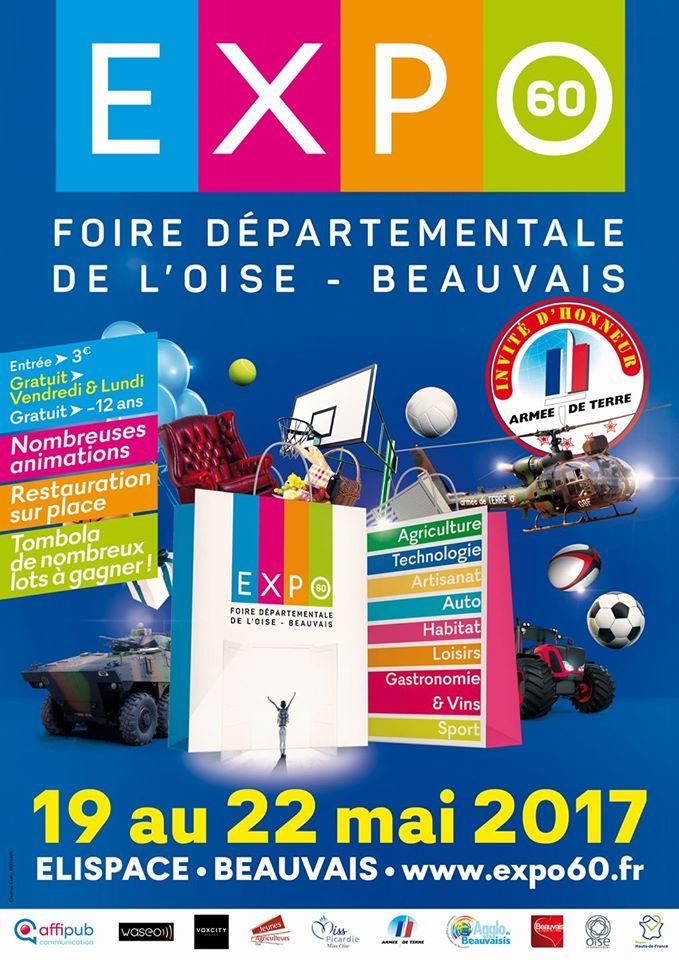 19 au 22 Mai Foire Départementale de l'Oise  44410