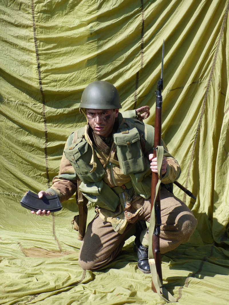 [Royaume-Uni] Bren gunner n°2 de Bren Group, Glider du Royal Ulster Rifles Regiment, Allemagne (Mars 1945) P1040111