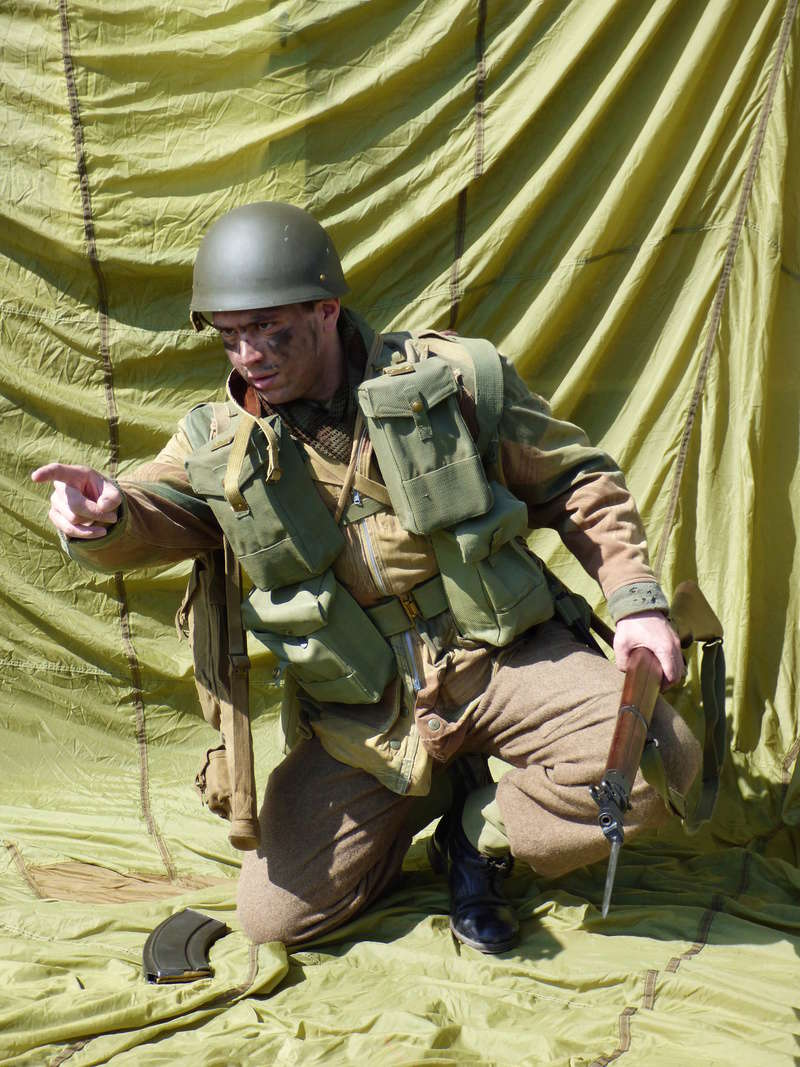 [Royaume-Uni] Bren gunner n°2 de Bren Group, Glider du Royal Ulster Rifles Regiment, Allemagne (Mars 1945) P1040112