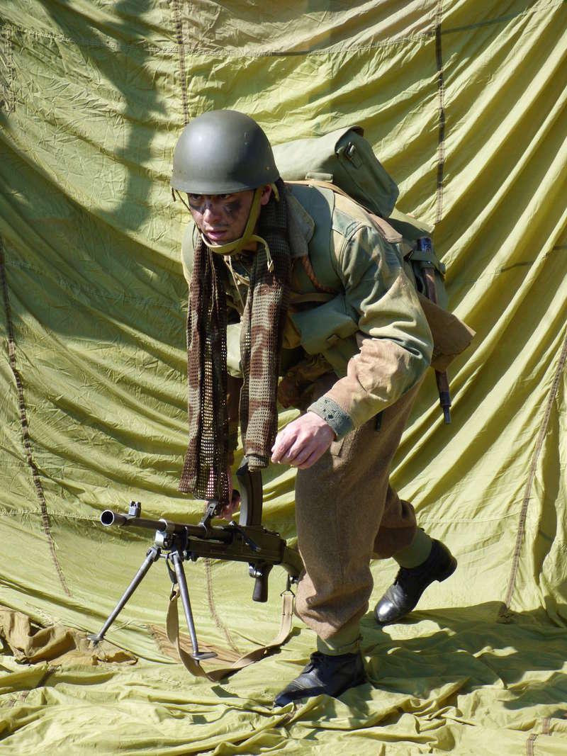 [Royaume-Uni] Bren gunner n°1 de Bren Group, Glider du Royal Ulster Rifles Regiment, Allemagne (Mars 1945) P1040212