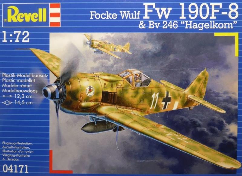 FW 190 F 8 REVELL 1/72 Fw190f10