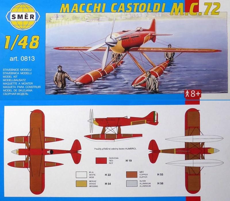 [SMER] Macchi Castoldi MC72 Mamc7210
