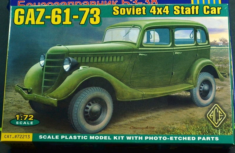 (ACE ) GAZ 61-73 4X4 0161010