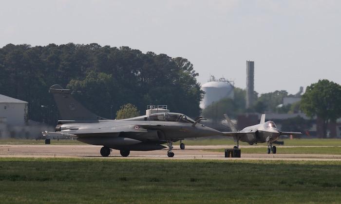 Le F.35 en vedette au salon du Bourget de 2017 112