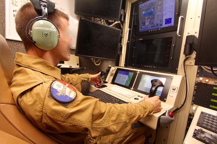Un reaper-drone  américain pour surveiller le salon du Bourget 210