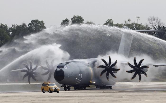 Le 4 éme A400M livré a l'armée de l'air Malaisienne , A400-m10