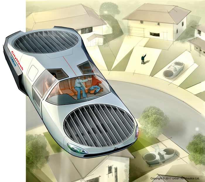 Drone du futur - a usage militaire Cityha10