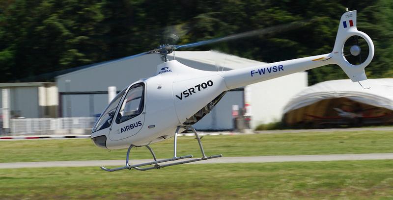 Le drone VSR700 en demonstration. Drone-11