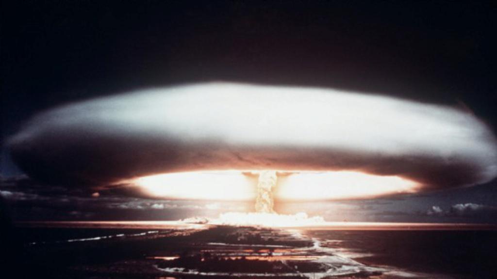 Huit vétérans indemnisés pour irradiation -essais du Pacifique  Essai-10
