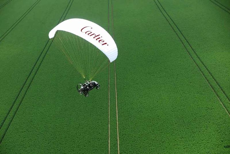 Sur les traces de Louis Blériot - la voiture volante Pegase10