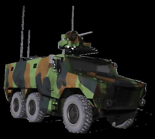 Le 1er RCA pour la formation des équipages de nouveaux chars. Scorpi10