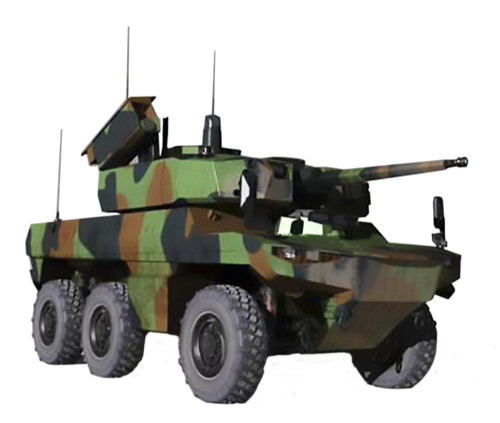 Le 1er RCA pour la formation des équipages de nouveaux chars. Scorpi11