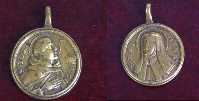 san juan de la cruz / Santa Teresa de Jesús (R.M. SXVIII-O132) Phot7210