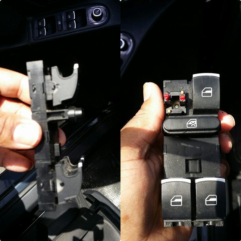 Tuto: changement de l'interrupteur lève-vitre Photog10