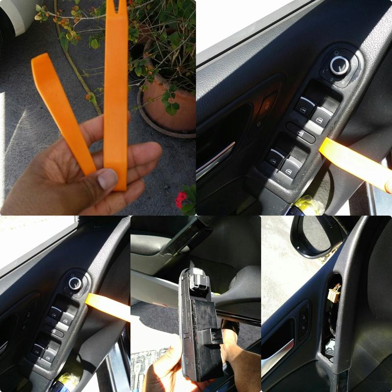 Tuto: changement de l'interrupteur lève-vitre Photog11