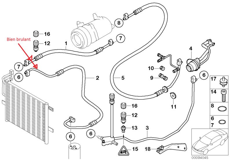 [ BMW E46 320d M47 an 1998 ] problème forte odeur clim (résolu) 64_07710