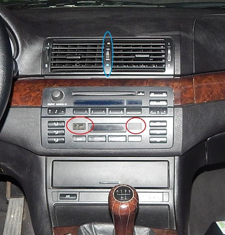 [ BMW E46 320D ] Capteur température habitacle (résolu) Dscn4214