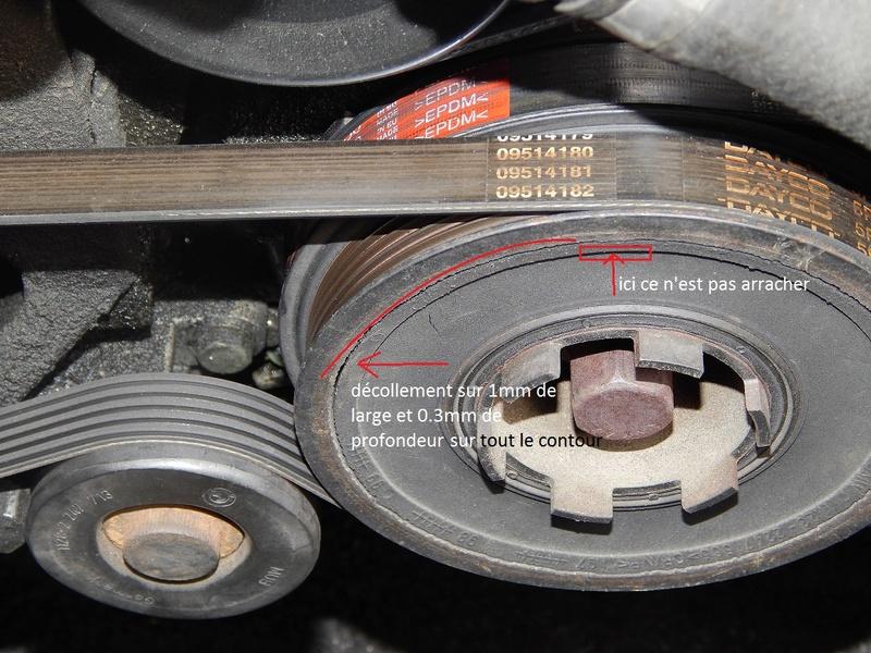[ BMW E46 320d M47 an 1998 ]2 claquements à chaque coupure moteur (résolu) Poulie11