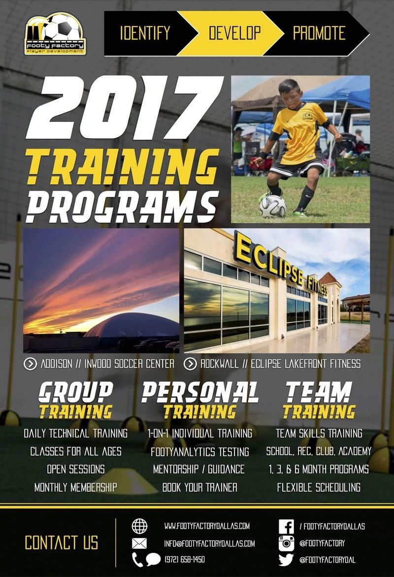 2017 Training Programs Develo10